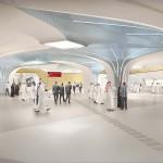 Ben van Berkel / UNStudio designs over 30 stations in the first phase of the Doha Metro Network