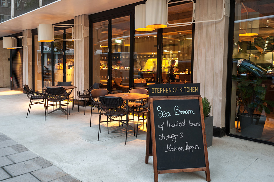 Stephen Street Kitchen Restaurant At British Film Institute