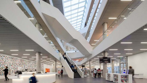 Halifax Central Library by schmidt hammer lassen architects