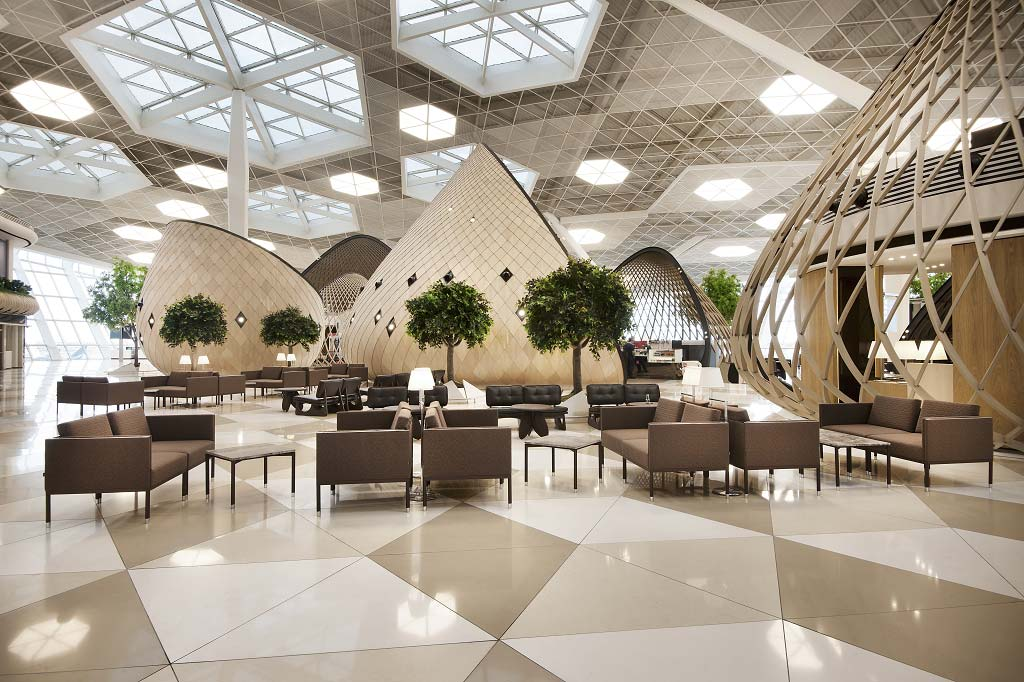 Heydar aliyev international airport in azerbaijan for International azerbaijan decor expo