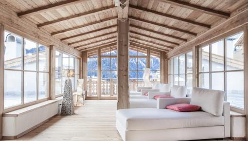 Duka furnishes the Dorfhotel Beludei in Val Gardena, Italy