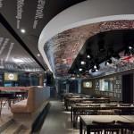 Club restaurant for VfB Stuttgart by Ippolito Fleitz architects